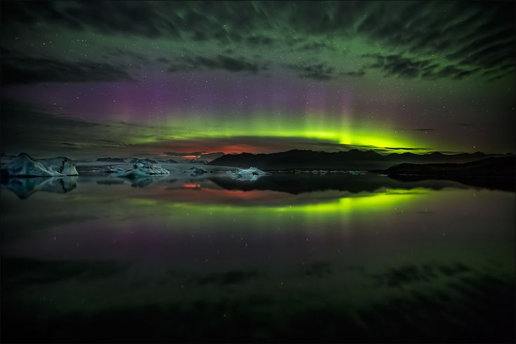 [ _ vulcanic glow // Jökulsárlón ] von martin666  #nature #island