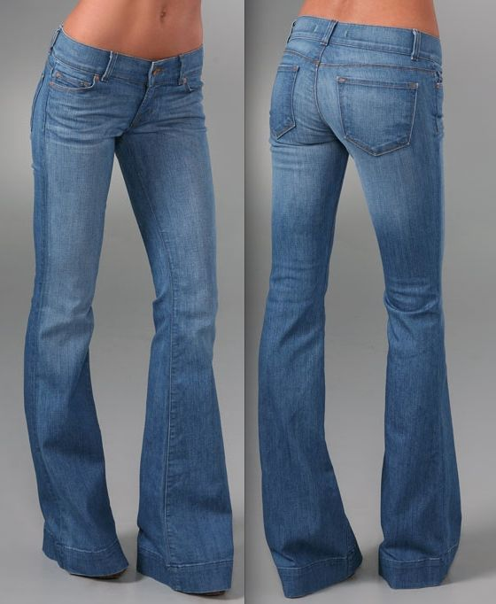91 best images about bell bottom jeans! on Pinterest | Wide leg ...