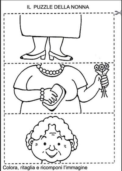 Puzzle Corpo Umano Da Ritagliare EN57  Regardsdefemmes
