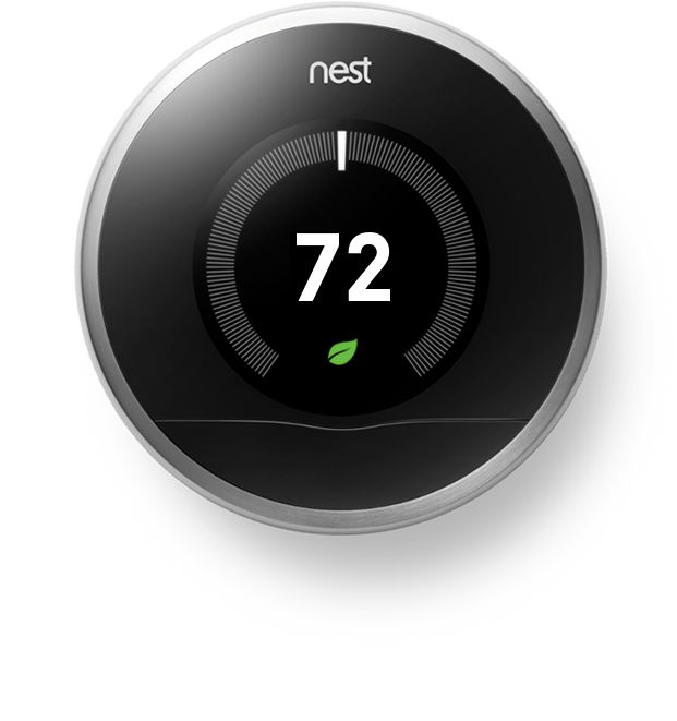 Nest Learning Thermostat: Learns Your Schedules And Temperatures To Keep  You Comfortable And Saves Energy