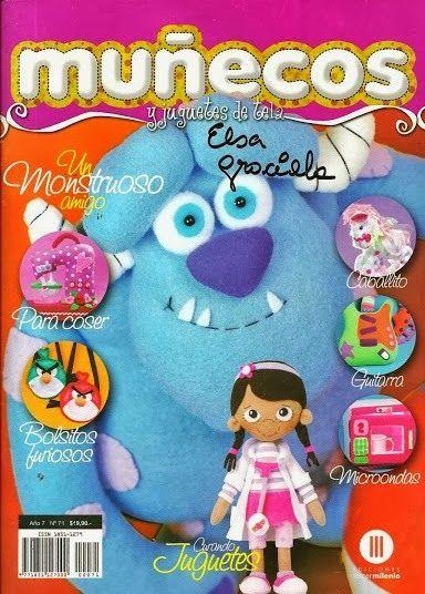 Revistas de manualidades Gratis: Cómo hacer muñecos en tela