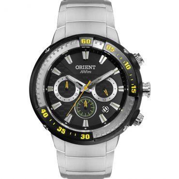 Ricardo Eletro Promoção Relâmpago - Relógio Masculino Orient Cronógrafo Resistência a Água 100 Metros ( R$ 293,90 )