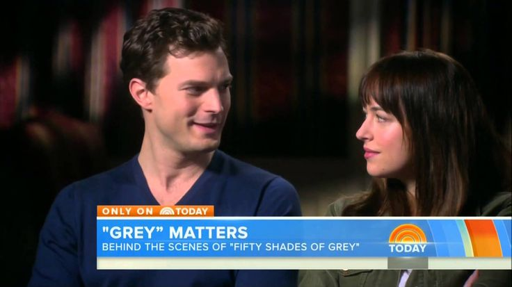 July, 25th, 2014 - NBC Today show takes us exclusively behind the Scenes of Fifty Shades Of Grey