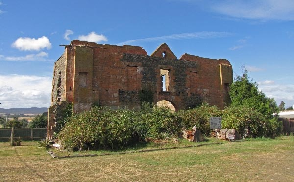 The story of Archer's Folly: building (circa 1847) found in Carrick, Tasmania. Article and photo for Think Tasmania.