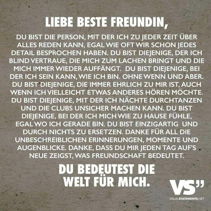 Beste Freundin Herzenssachen Pinterest Friends Bff Und Friendship