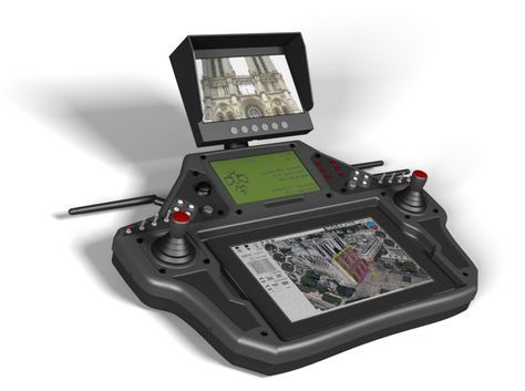 The EVO IV is for UAV pilots who can not be content with a simple tablet and interface to manage their professional tasks and applications. A station that allows you to control your drone with great precision aerial work both indoors and outdoors.