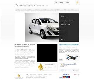 screenshot of agarcompany.com