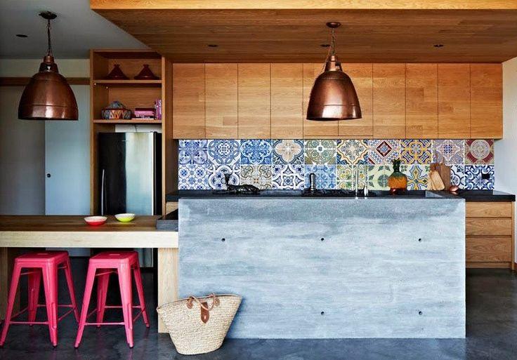 Behang speciaal voor de keuken achterwand van Kitchen Walls (pvc behang) http://www.funky-friday.com/wanddecoratie/behang/kitchen-walls-behang/kitchen-walls-behang-portugal.html