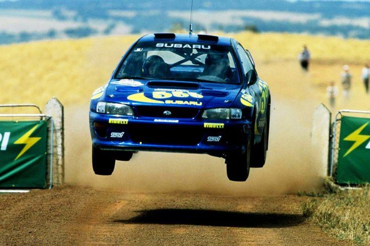 Colin McRae - Subaru Impreza WRC - Rally Australia - 1997