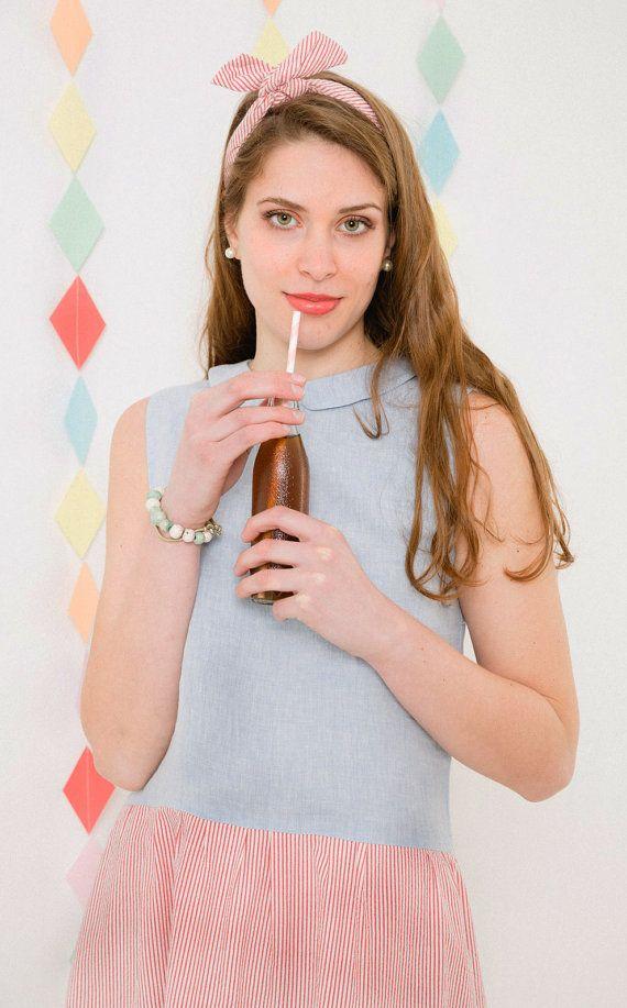 Guarda questo articolo nel mio negozio Etsy https://www.etsy.com/it/listing/230742643/dolcissima-fascia-per-capelli-in-cotone
