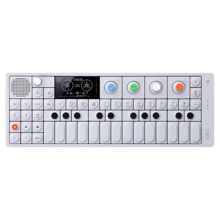 Portable Synthesizer, Sampler, and Controller. This is legit! Make your own music, record it, and upload it to your PC or Mac. This thing has a ton of features for being so small.