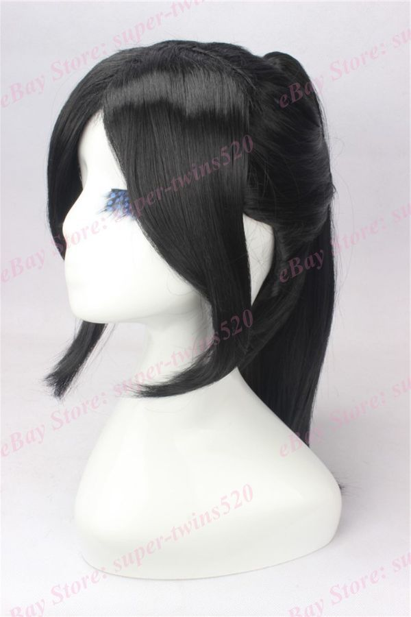100cm Long Black Wavy Cosplay Wigs Cb64a Wigs Cosplay Hair Long Hair Styles