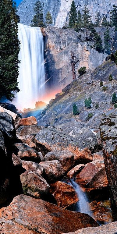 Yosemite–The waterfalls and HUGE rock/mountain formations are gorgeous!!!! We hiked some beautiful trails!!!!!