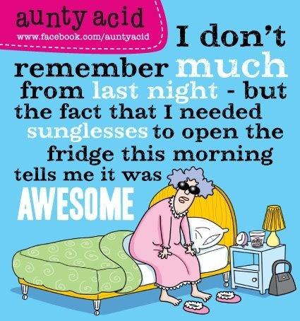 I just love aunty acid..