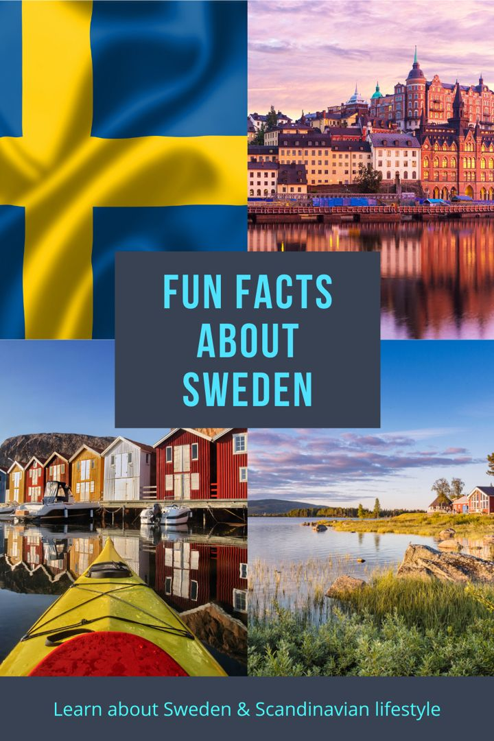 11 Fascinating Facts About Sweden Life In Norway In 2020 Fun Facts About Sweden Sweden Facts About Sweden