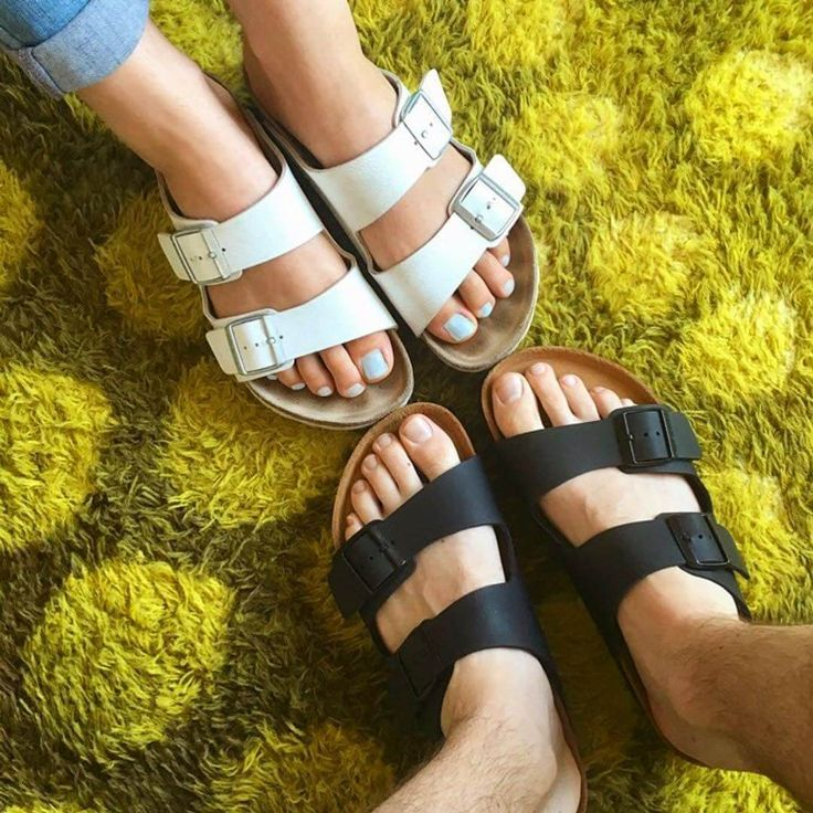 Vegan Birkenstock sandals are here to take your shoe game to the next level. The company has released vegan versions of its classic sandals in the U.S.