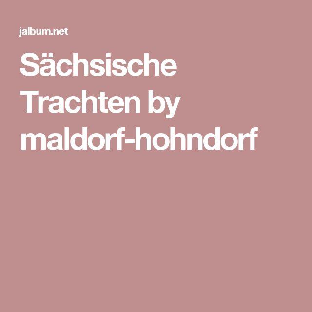 Sächsische Trachten by maldorf-hohndorf