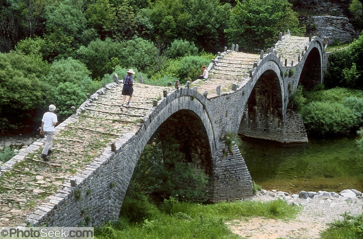 Turkish Bridge, Kipi, Greece