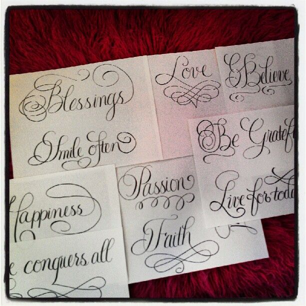 Photo By Jennscalligraphy Instagram Calligraphy By