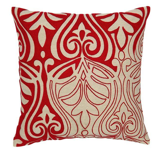 DG37 Henna 45x45cm Filled Cushion Red