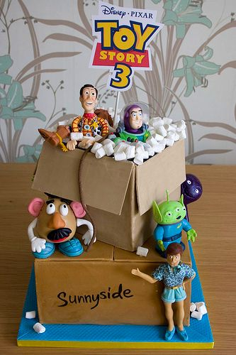 Toy Story 3. The boxes look so real I almost don't want to eat it#Repin By:Pinterest++ for iPad#