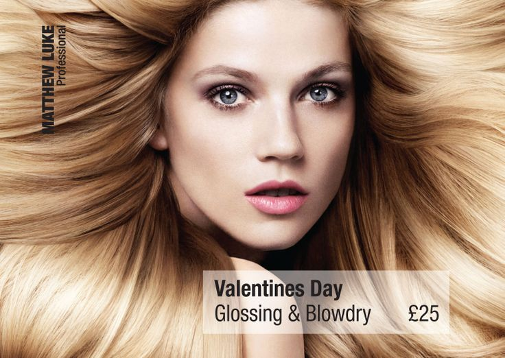 Valentines Day is just around the corner… Give the perfect present with our ML Gloss & Blow Dry!