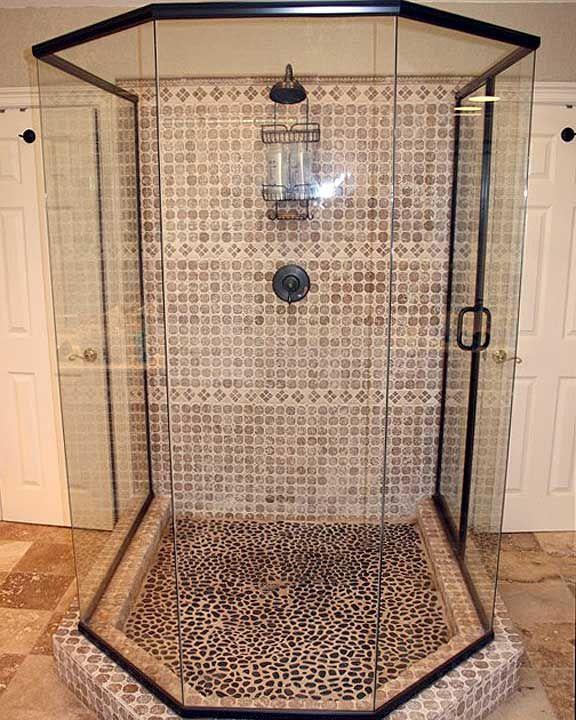 77 best images about frameless glass shower doors enclosures on pinterest shower doors - Walk in glass shower enclosures ...