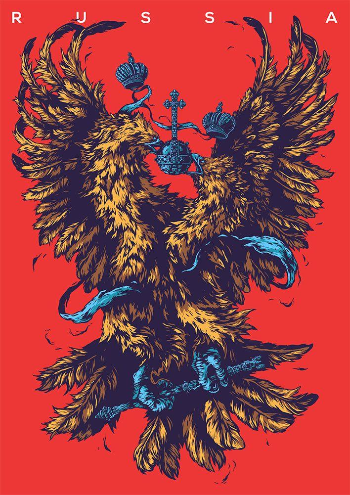 Гербовой арт от Ивана Беликова
