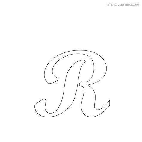 Bsta Alphabet Stencils Iderna P   Gratis