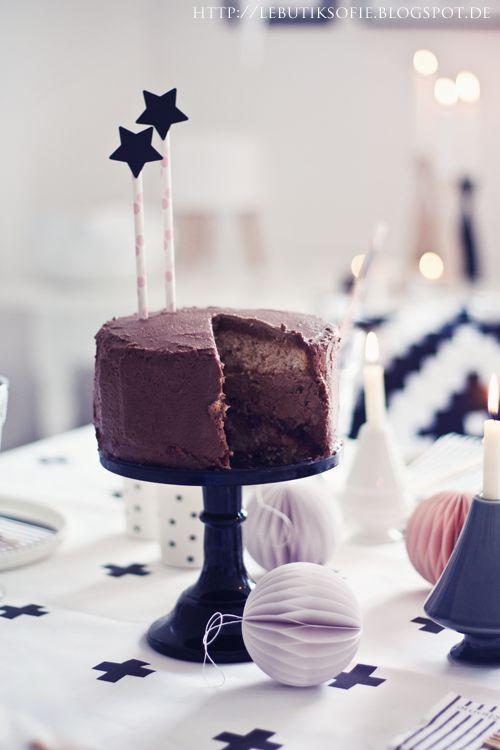 Spekulatius-Schokoladen-Cranberry-Torte