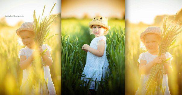 детская фотосессия в пшенице / фотосессия в поле / фотосессия на закате / одежда для детской фотосессии / детский фотограф / фотограф варшава / фотосессия за городом