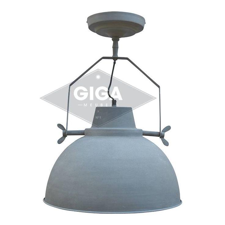 Plafondlamp Urban XXL Vintage Grey