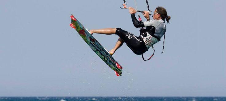 #kitesurf #sardinia #jump