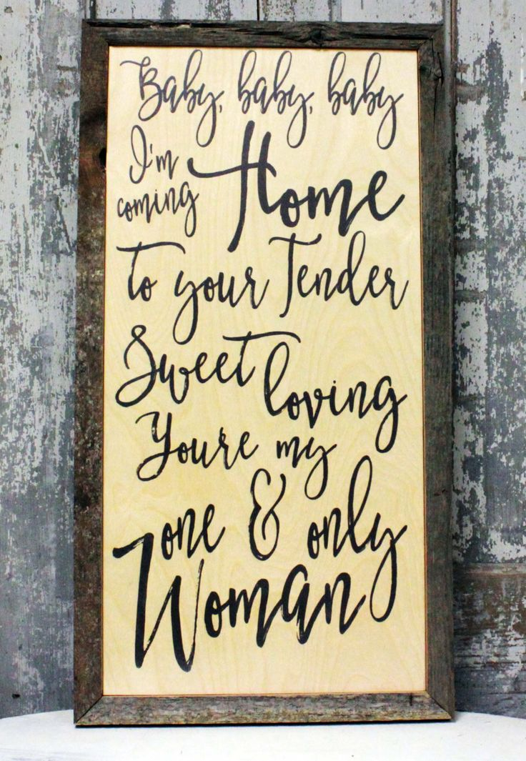 Wedding Song Lyric Art,  Coming Home, Leon Bridges,  First Dance, Wedding Song,  Personalized Sign- Wood or Canvas, Wall Art  Subway Art by MadiKayDesigns on Etsy