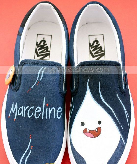 #Marceline Shoes Marceline Hand Painted Canvas Shoes Marceline Sl,Slip-on Painted Canvas Shoes