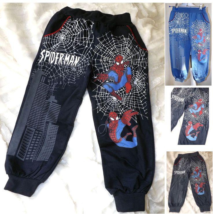 Spider-Man Jungen Hose-Sweathose-Jogginghose Gr.104-128