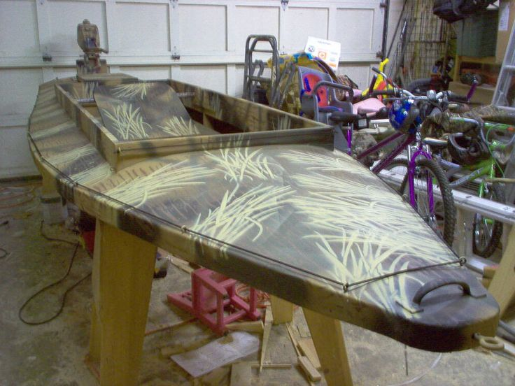 how to build a duck blind on a jon boat