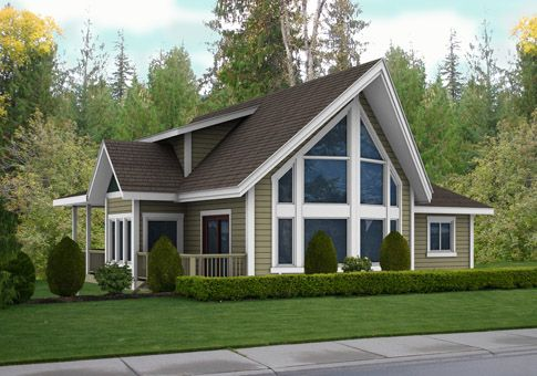 The Brockton home design from Linwood Homes is suited for both neighbourhood and country settings. This affordable home kit offers a post and beam design with an exceptional sense of space. Linwood Homes offers over 400 designs that can be fully customized to suit your needs.