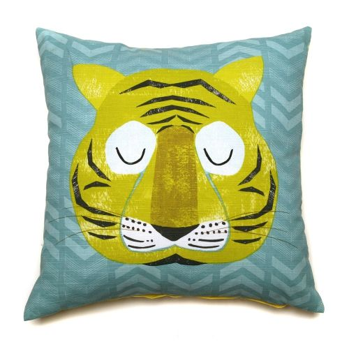 Tiger Terry Cushion