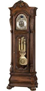 Howard Miller Hamlin 611-025 Grandfather Clock ID 16916 view larger image