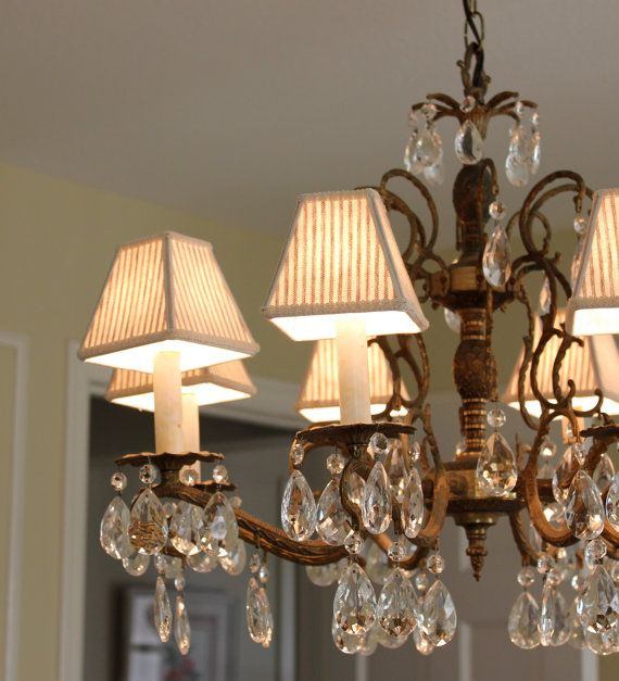 17 Best ideas about Chandelier Lamp Shades – Chandelier with Lamp Shades