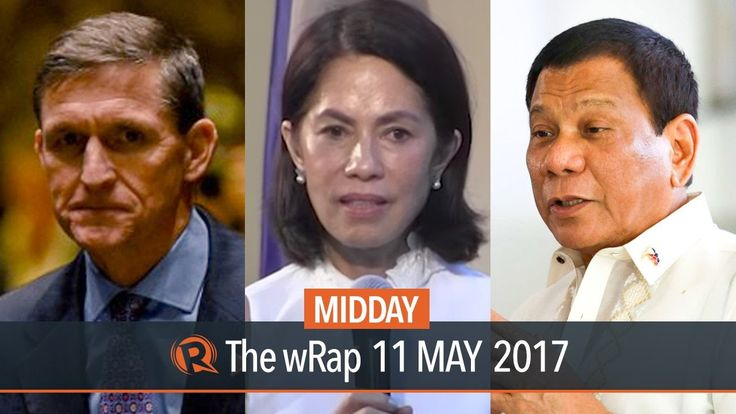 Lopez, Pag-asa Island, Flynn | Midday wRap - WATCH VIDEO HERE -> http://dutertenewstoday.com/lopez-pag-asa-island-flynn-midday-wrap/   Today on Rappler: President Rodrigo Duterte defends celebrity dancer and blogger Mocha Uson from criticism over her appointment as Palace communications assistant secretary. Former environment secretary Gina Lopez calls out Mines and Geosciences Bureau Director Mario Luis Jacinto during her...