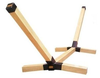 Diy Wood Hammock Chair Stand Homemade Kit Risk S 25