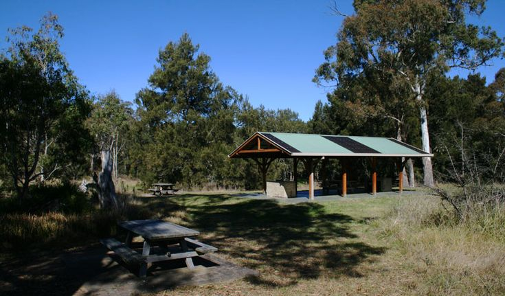 Picnic area at Blue Hole, Oxley Wild Rivers National Park. Photo: OEH Near Armidale. Might stop here on the way up for a picnic dinner