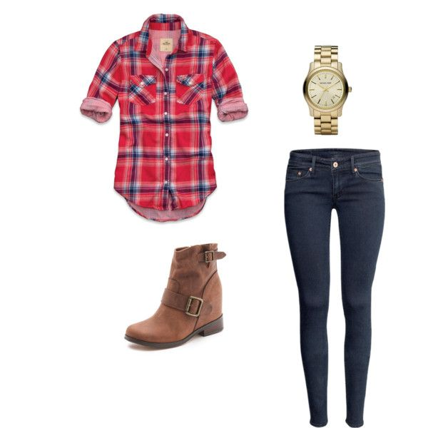 I need to just step out of my monochromatic style and give plaid a try ~ this is so cute! How to wear plaid for fall...: Nice Style, Monochromatic Style