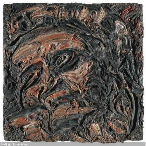 LEON KOSSOFF       Title : HEAD OF SEEDO              Date : 1964           Medium : Oil on board