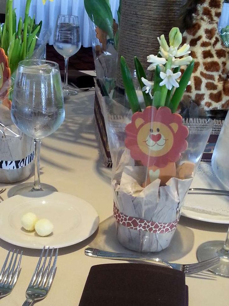 Jungle Safari Baby Shower Baby Shower Party Ideas | Photo 7 of 12