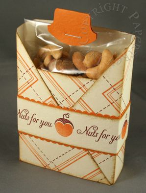 """Cute box template and #tutorial  This box is made with an 8.5"""" x 11"""" sheet of paper."""
