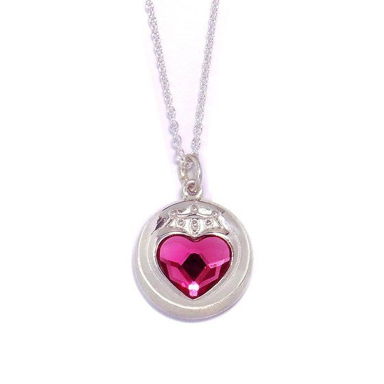 Premium Bandai Sailor Moon S Sailor Mini Moon / Chibi Moon Prism Heart Compact pendant (silver)! More info and shoppings links here http://www.moonkitty.net/reviews-buy-sailor-moon-jewelry.php #SailorMoon