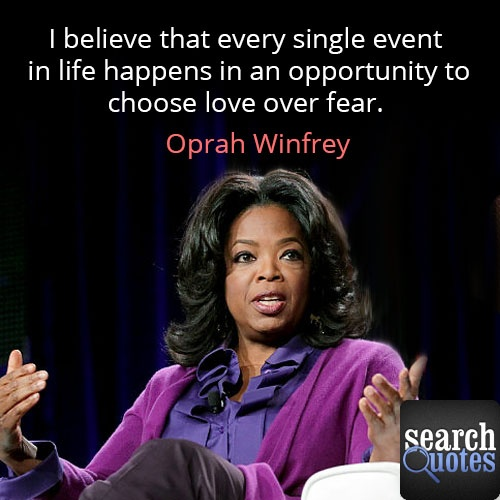 Love overtakes fear in every part of ones life. Love Life